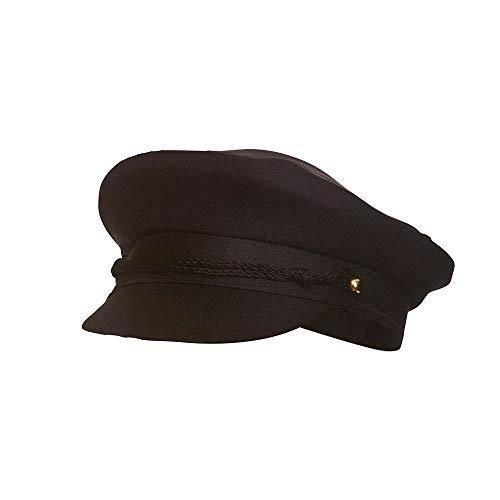 Chauffeur Cap Fancy Black Adult Unisex Dress Accessory (Chauffeur Fancy Dress Kostüm)