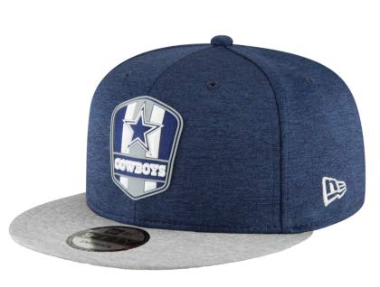 Dallas Cowboys New Era Sideline Road 9 Fifty Cap, Jungen, Multi, One Size Fits All (Cowboys Sideline Hut)
