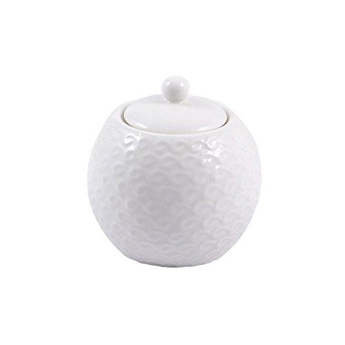 PORCELLANA Momenti Sucrier, Porcelaine, Blanc, 0.1 x 0.1 x 0.1 cm