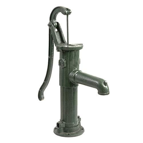 Ribelli Schwengelpumpe Gartenpumpe Handpumpe Wasserpumpe manuell und energiesparend Rundflansch Typ 75 Nostalgie