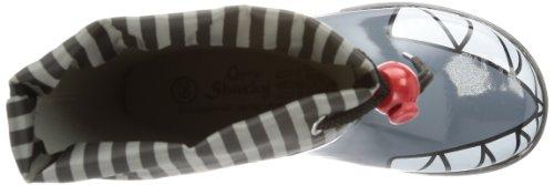 Capt'n Sharky 130060 Jungen Halbschaft Gummistiefel Grau (Grau)