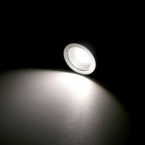 7W LED COB Flood Leuchtmittel, ultra helle LED-Lampe E27/GU10/MR16Spot-Leuchtmittel Downlight Flood 60Grad, GU10-Sockel, GU10, 7.0W 265.0V -