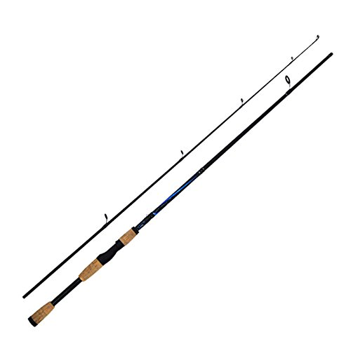 Canne à pêche 1.8m Casting Rod en acier au carbone de moulage Spinning Jigging pêche canne à pêche d'eau douce , straight handle 2.1 meters