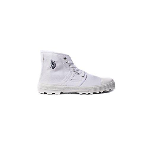 Chaussures à lacets U.S. Polo Blanc