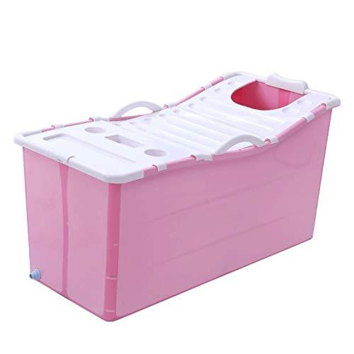 Faltbare Badewanne for Erwachsene, Tragbare Haushaltsbadewanne Kinderbecken Mit Deckel Hause Voller Körper Q