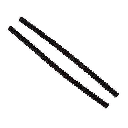 Mikrowelle Silikon Isolierhülle Silikon Isolierstreifen Home Küche Zubehör (Schwarz) ()