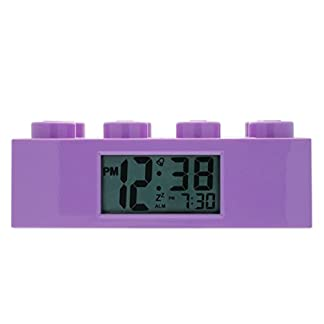 Reloj despertador LEGO Kid 9009853 Friends Purple Plastic