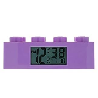 Reloj despertador LEGO Kid 9009853 Friends Purple Plastic