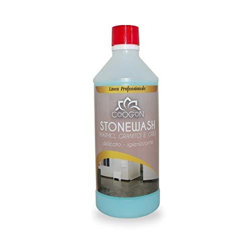 chogan STONEWASH Detergente igienizzante autolucidante - Marmo, Granito, Gres (750 ML)