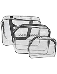 Alcoa Prime Set Of 3 Travel Toiletry Bag Organizer Cosmetic Case Makeup Beauty Hand Bag