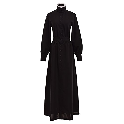 Kostüm Mädchen Pionier (GRACEART Pionier Damen Kostüm Prärie Kleid (Medium, Reine)
