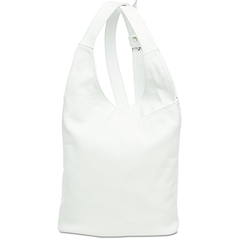 CASPAR Fashion, Borsa a tracolla donna Bianco