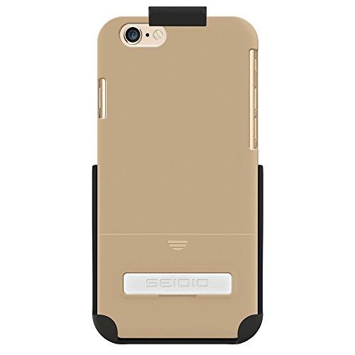 Seidio Surface Schutzhülle mit metallischenKickstand Combo für Apple iPhone 6 Gold