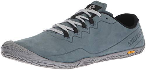 Merrell Herren Vapor Glove 3 Luna Leather Sneaker, Grau (Slate), 45 EU