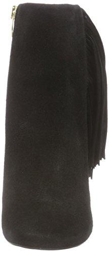 Buffalo 2868 Suede, Bottes femme Noir - Noir (01)