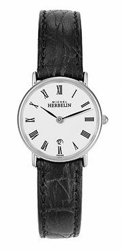 Michel Herbelin Classic Orologio da donna nero/argento 16845/S01
