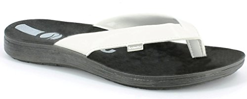 INBLU Infradito Ciabatte da Uomo MOD. VA-16 Bianco Flip Flop (43)