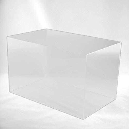 Hansen Haube Acryl/Schaukasten / Ausstellungshaube/Acrylhaube / Abdeckhaube/Showcase rechteckig, in Verschiedenen Größen