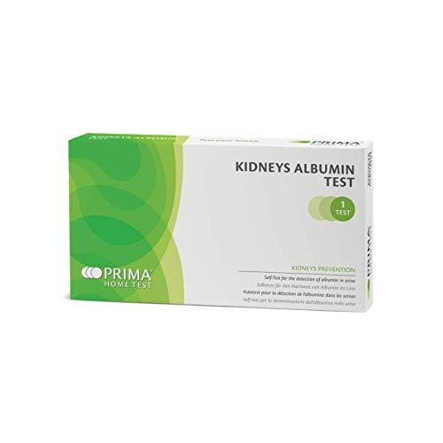 PRIMA Home Test - Albumin Nieren Test (Urin) - Gesundheitstest und Nierenfunktion