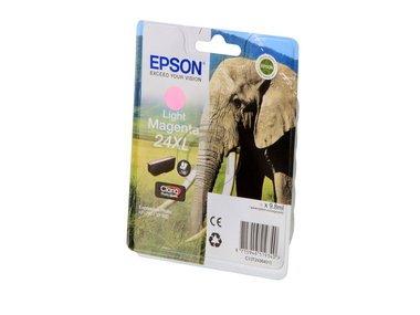Epson original - Epson Expression Photo XP-55 (24XL / C 13 T 24364010) - Tintenpatrone magenta hell - 500 Seiten - 9,8ml -