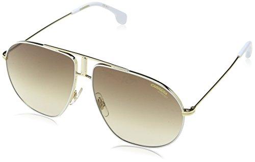 Carrera Unisex-Erwachsene Bound HA B4E Sonnenbrille, Weiß (White Gold/BRWN Sf), 60