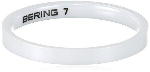 Stein Ring Weiß (Bering Damen-Ring arctic symphony Innenring Keramik Gr. 60 (19.1) - 554-50-71)