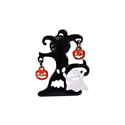 Halloween Dekor Ghost - MEIDI Home Sparkly wunderschöne Brosche-Halloween Ghost