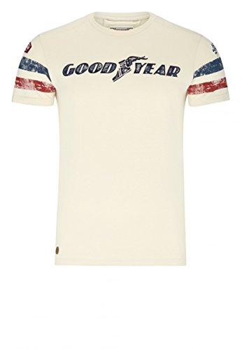 Goodyear T-Shirt Grand Bend, Farbe:vintage sand;Größe:L