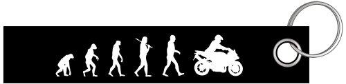 Preisvergleich Produktbild Motorrad II Biker Bike Evolution Schlüsselanhänger Schlüsselband Keyholder Lanyard