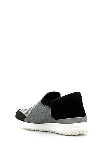 Liu Jo Shoes S66035 Slip On Damen Gewebe Schwarz / Grau