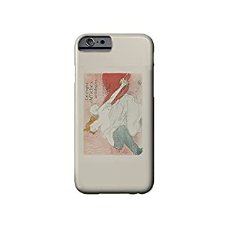 Catalogue d'Affiches Artistiques - A Arnould Vintage Poster (artist: Lautrec) France c. 1896 (iPhone 6 Cell Phone Case, Slim Barely There)