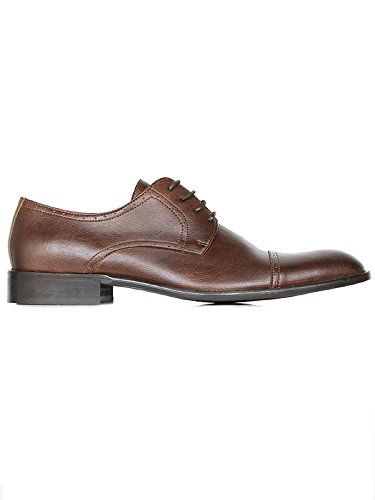 Will's Vegan Shoes City derbys chestnut-UK 10/EU 44/US 11