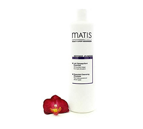 Reponse Jeunesse by Matis Paris Essential Cleansing Emulsion for All skin Types, Salon Size, 500ml by Matis Paris -