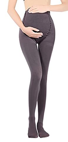 Cimary Women's maternity pantyhose Opaque Full Belly Tights 120D