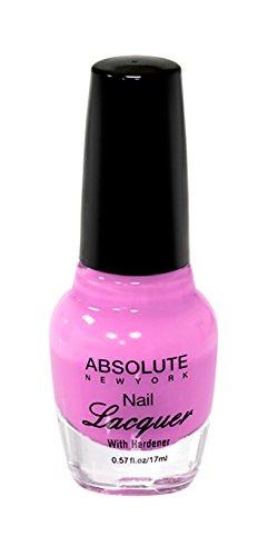 Absolute New York Nagellack - Hot Pink, 1 Stück