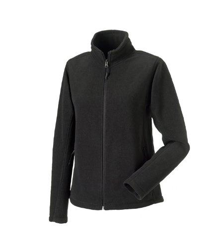 Russell Womens Full Zip Outdoor Fleece Jackets Black