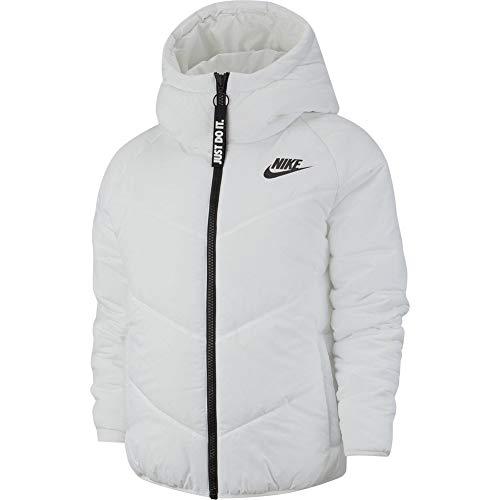 Nike Sportswear Windrunner Veste Femme, Blanc/Noir, XS