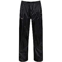 Regatta Stormbreak - Pantalón para hombre (impermeable), negro negro, Talla: XL