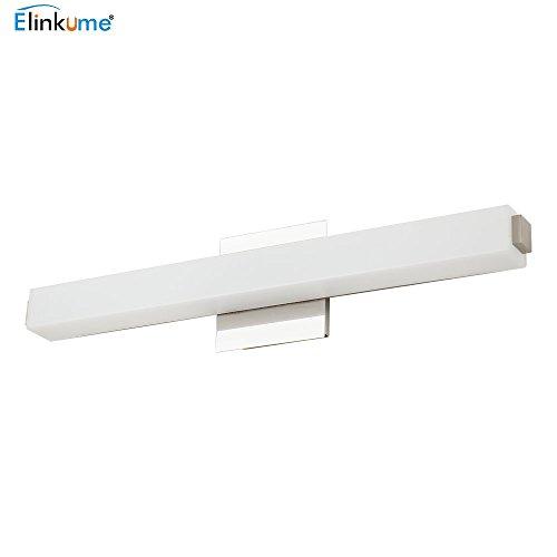 ELINKUME LED Spiegelleuchte 14W Spiegellampe Badlampe, 1190lm, Wandbeleuchtung Spiegelschrank Lampe, AC 220V Kaltweiß 61cm