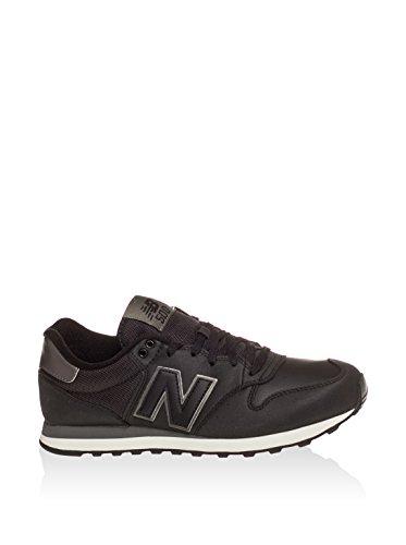 Neuf Pour Hommes/pour Noir Nouveau Balance Gomar 500 à lacets Basket Course Noir - TAILLES UK 7.5-12.5 Black