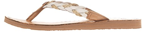 Ugg Australia Women's Navie Beige Women's Flip-Flop Sandals In Size 41 Brown