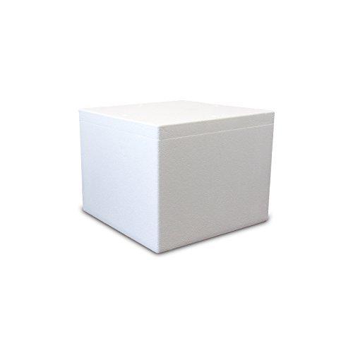 Styroporbox / Thermobox - 60,0 Liter - 57 x 45 x 41 cm / Wandstärke 4 cm - Styrobox