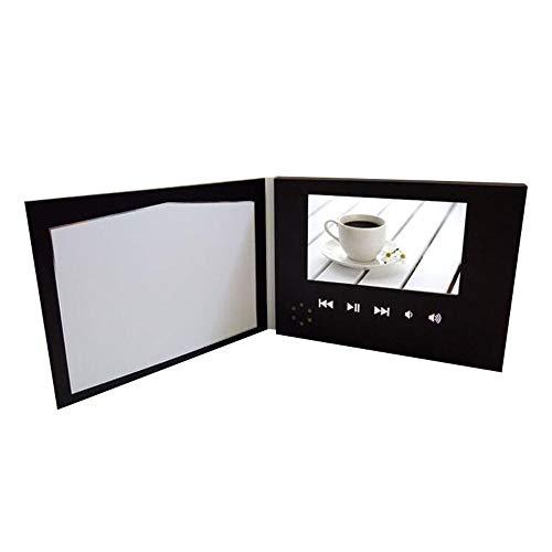 Ledu E-Card, 2.4 '' Video-Einführungsbuch, digitaler Fotorahmen, Geburtstag, Jubiläum, Feiertag, Weihnachten, großes Geschenk (Sympathie-karten Für Die Danke)