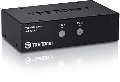 TRENDnet TK-222DVK - Kit Switch KVM DVI Dos Puertos