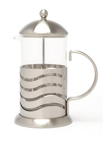 La Cafetiere Wave 8 Cup French Press Coffee Maker Plunger - French Ein Maker Coffee Cup Press