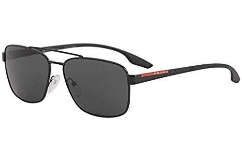 Ray-Ban Herren 0PS 01US Sonnenbrille, Weiß (White Rubber), 58