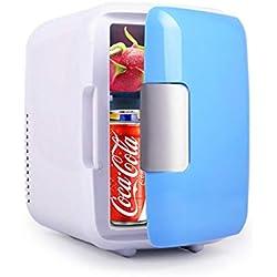 Mini Réfrigérateurs 12V / 220V Mini Frigo Faible Consommation D'énergie Refroidissement Puissant, Réduction Du Bruit Dans Les Basses Fréquences Grande Capacité Mini Frigo De Chambre Petit Réfrigérateu