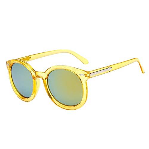 GJYANJING Sonnenbrille Schöne Vintage Cat Eye Weibliche Sonnenbrille Frauen Markendesigner Runde Rosa Sonnenbrille Frauen Brille Feminine