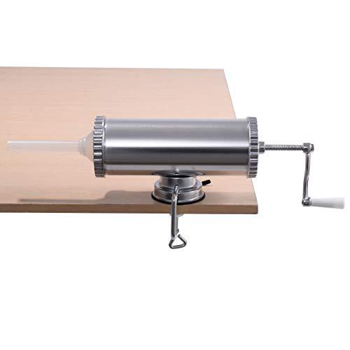 3L Embutidora SalchichasManual aluminio Ventosa Sujeción