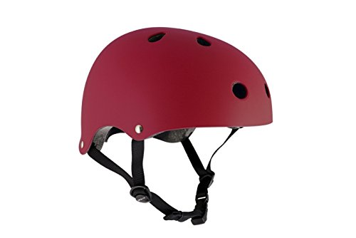 SFR Essentials casco casco, Hombres, hombres, Essentials casco, Matt Red